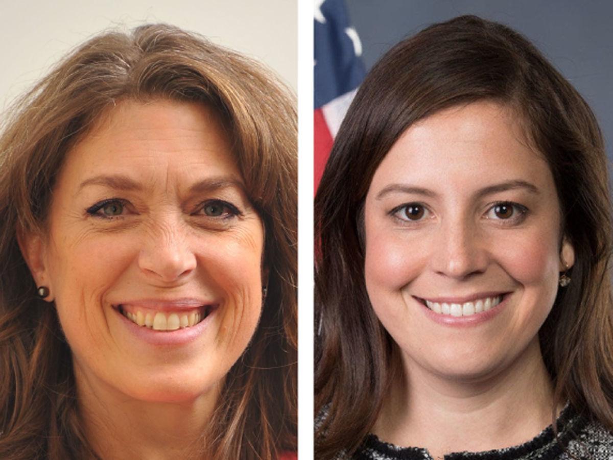 Tedra Cobb and Rep. Elise Stefanik