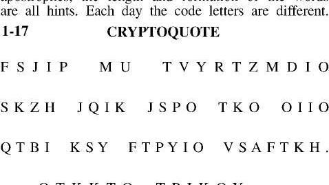 Crypto Puzzles Comics Poststarcom
