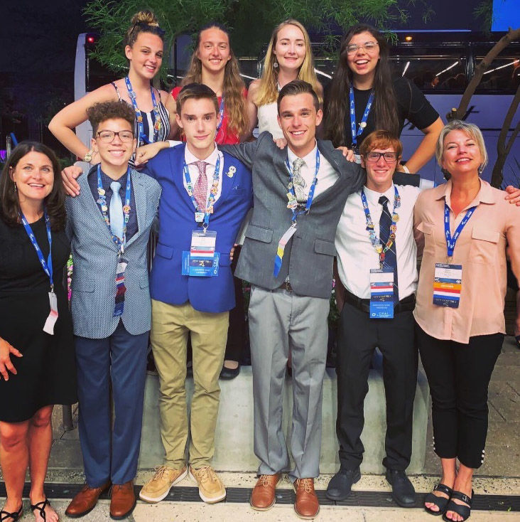 Future business leaders attend conference