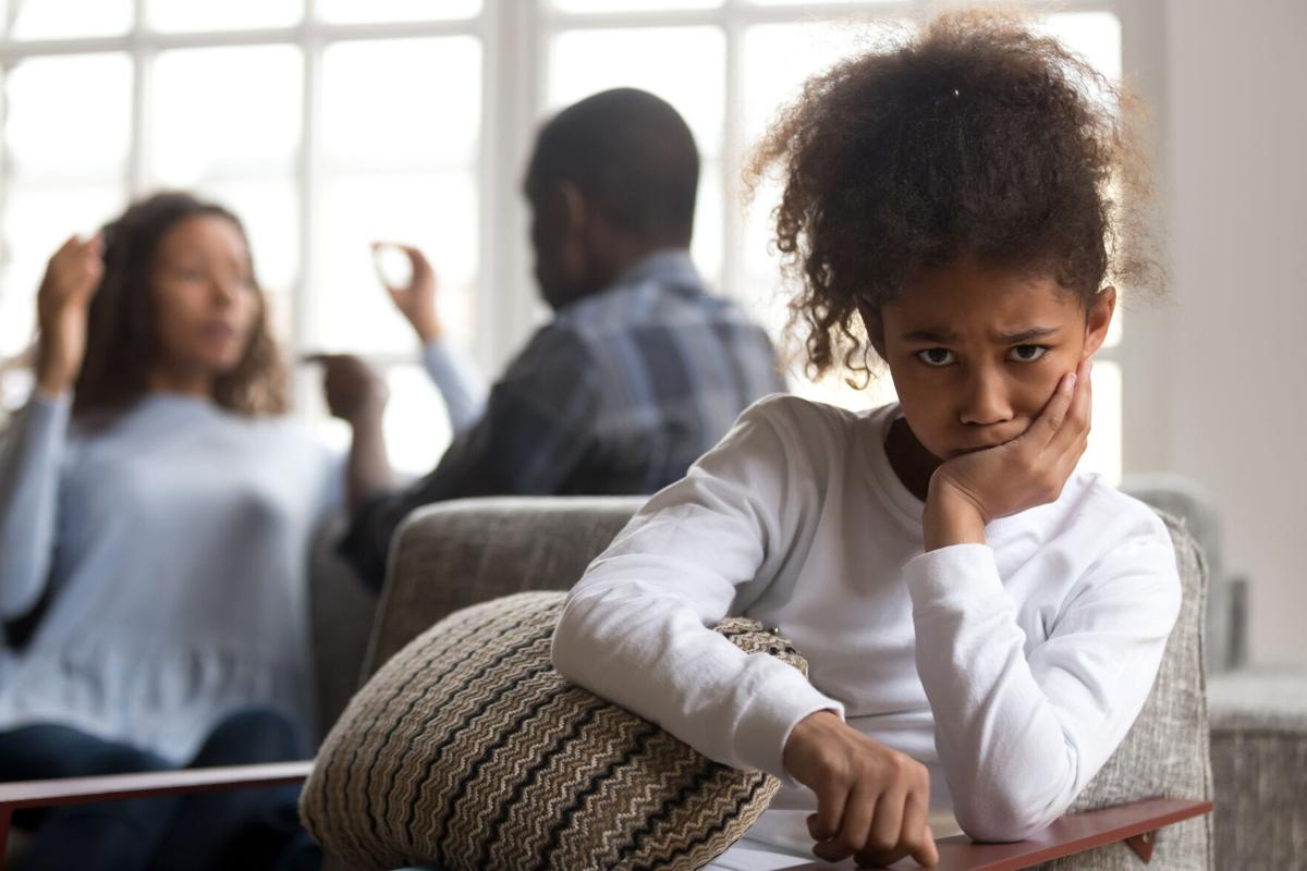 Studies show that children who witness parents arguing and fighting face developmental consequences.