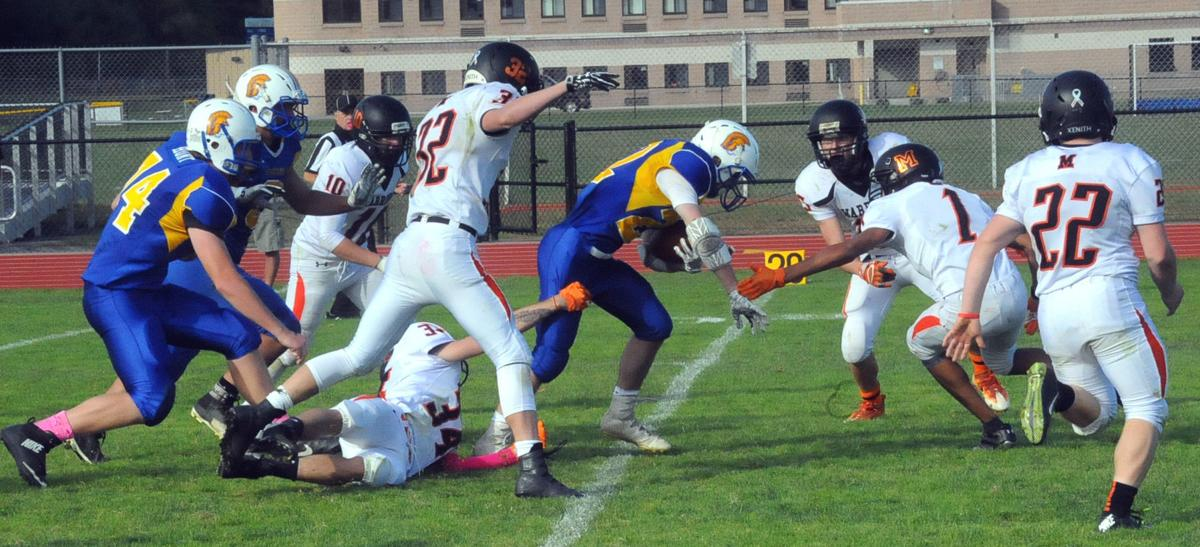 Football: Mohonasen at Queensbury