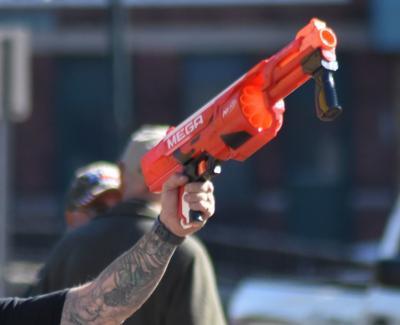 A fake gun