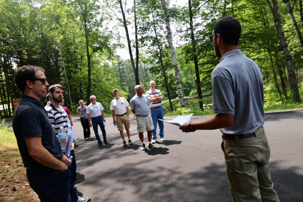 Water-quality projects tour