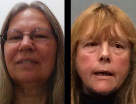 Deb Runyon and Susan Shepler