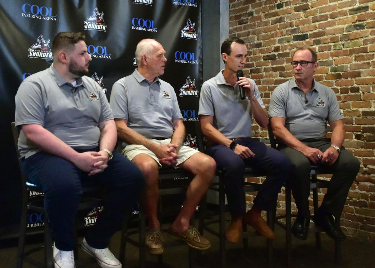 Adirondack Thunder introduce associate coach Pete Dineen