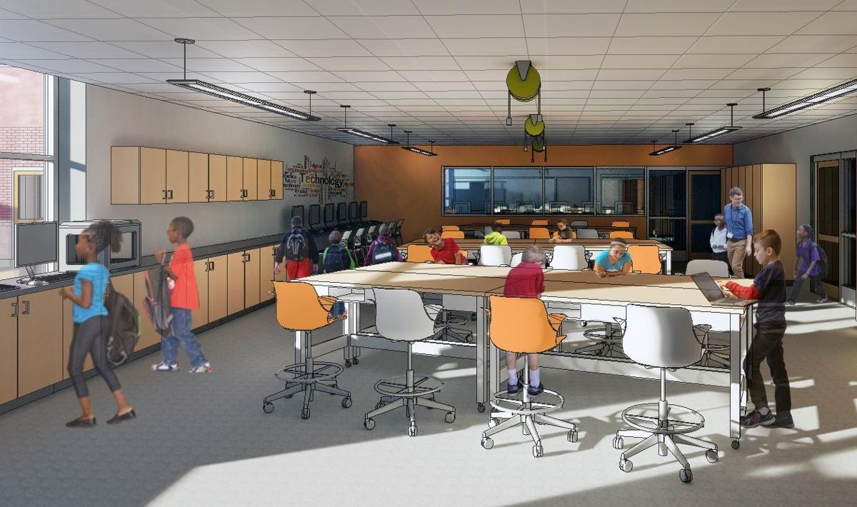 Middle school science classrooms