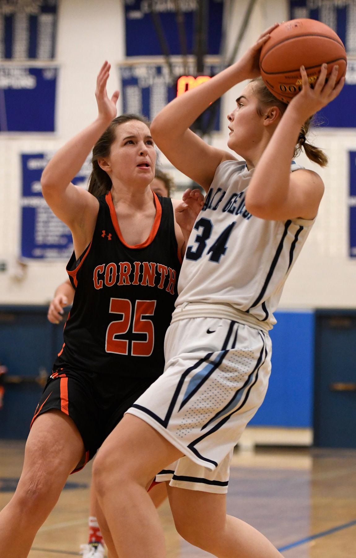 Corinth vs. Lake George girls basketball
