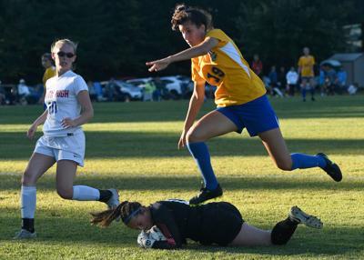 South Glens Falls at Queensbury girls soccer