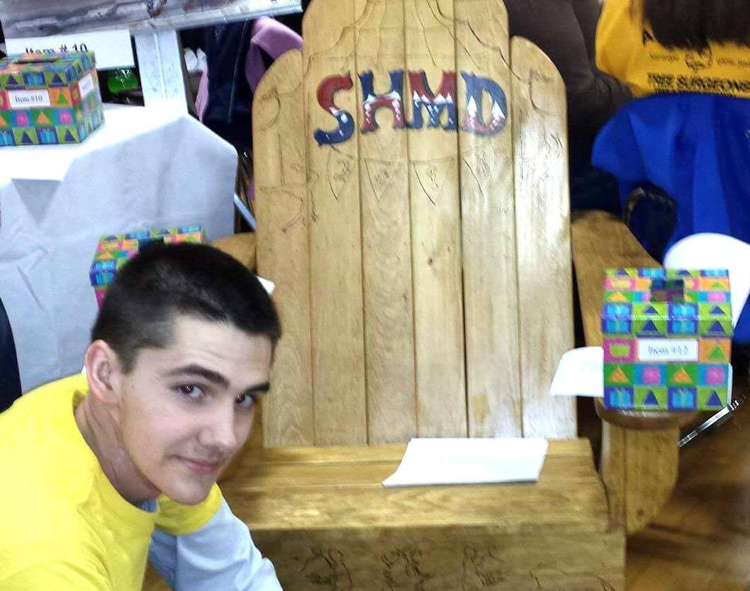 Nick's chair