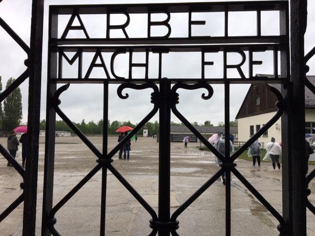 Gate at Dachau