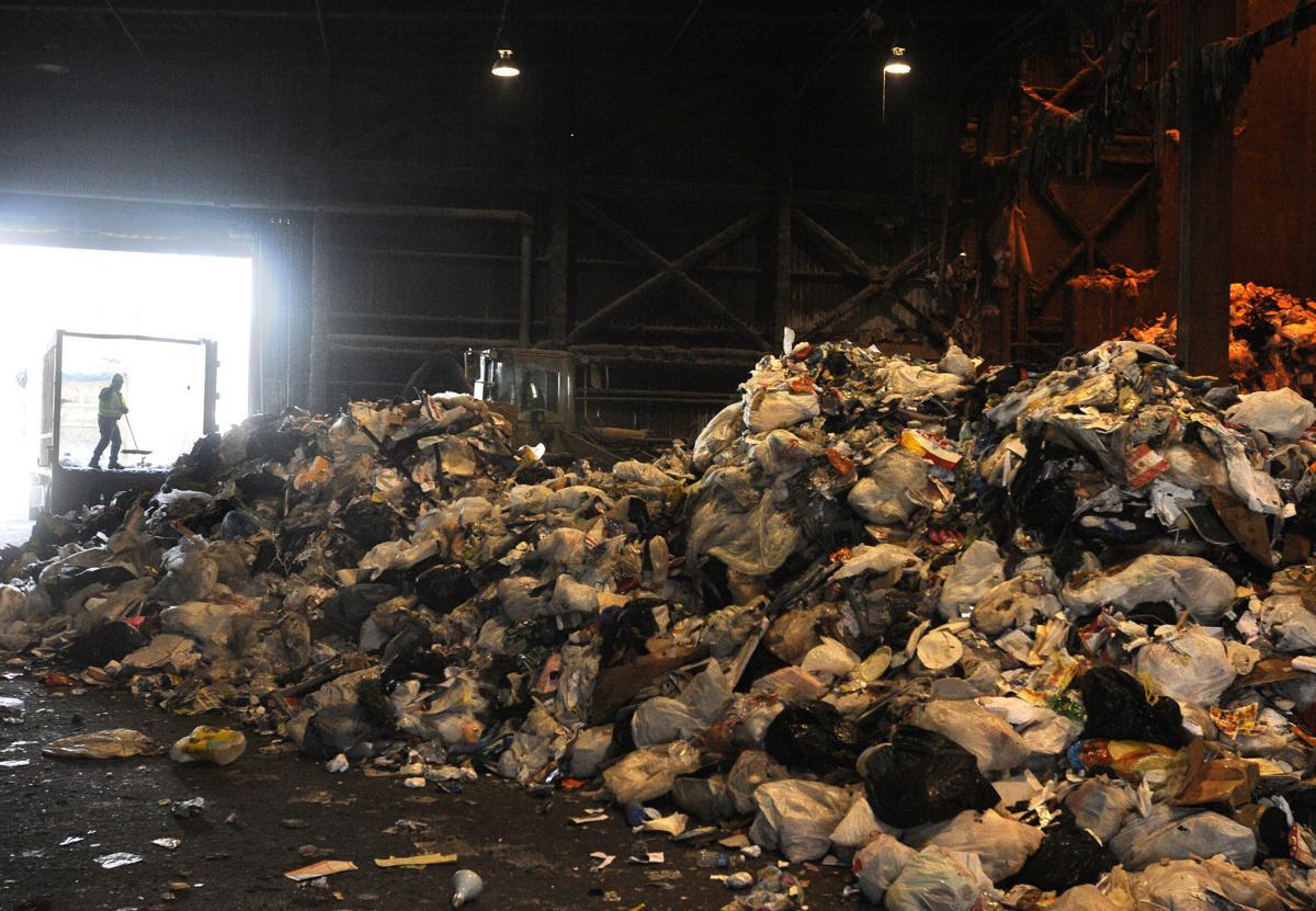 Trash plant tour 2009