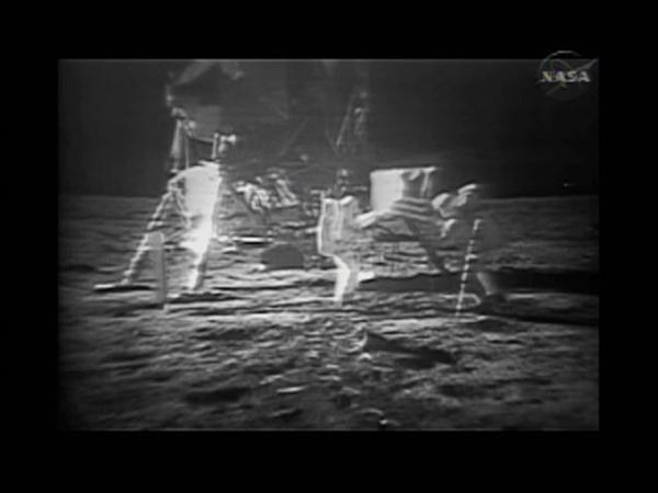 NASA refurbishes video copies of moon landing