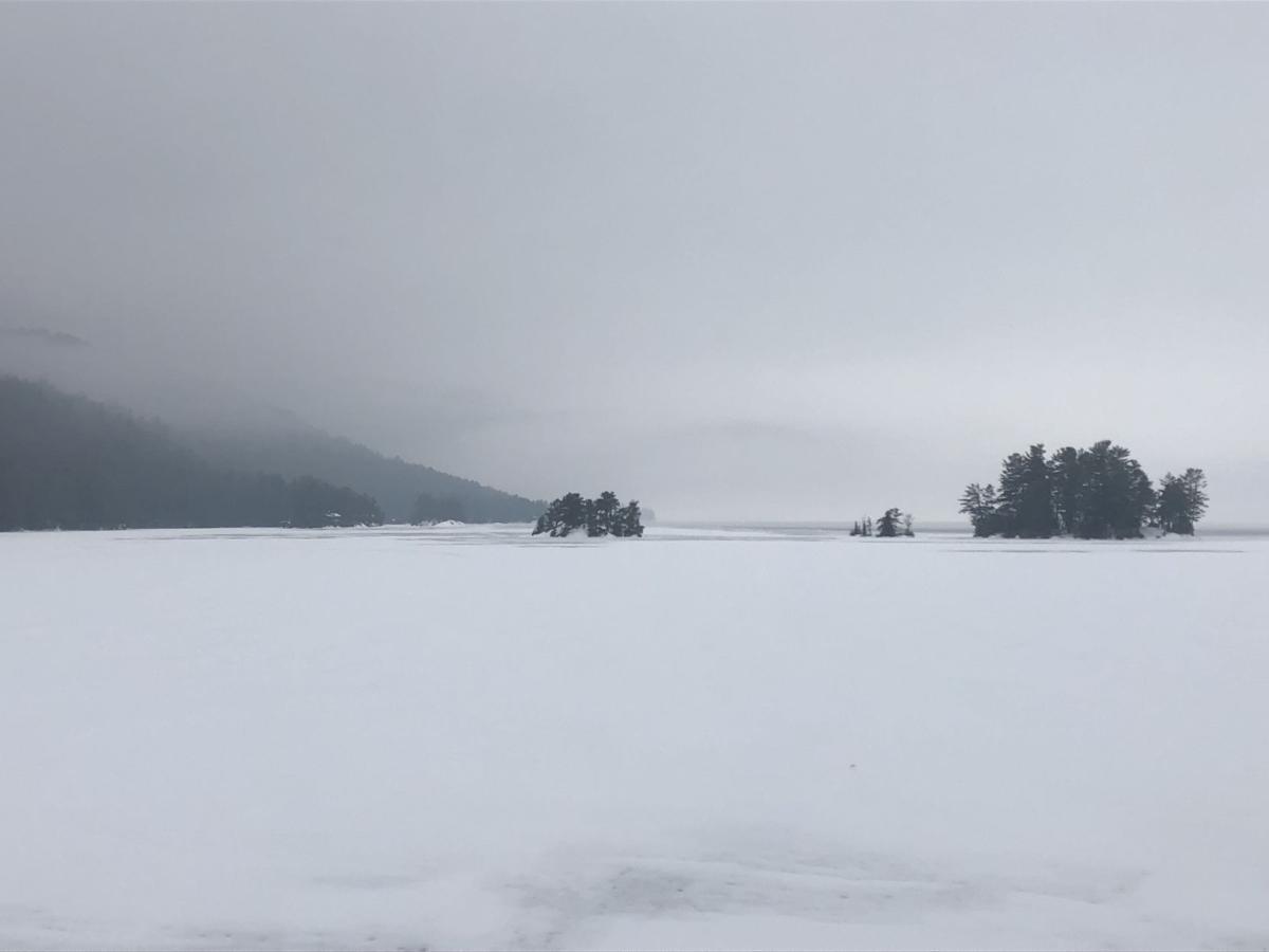 Icy Lake George
