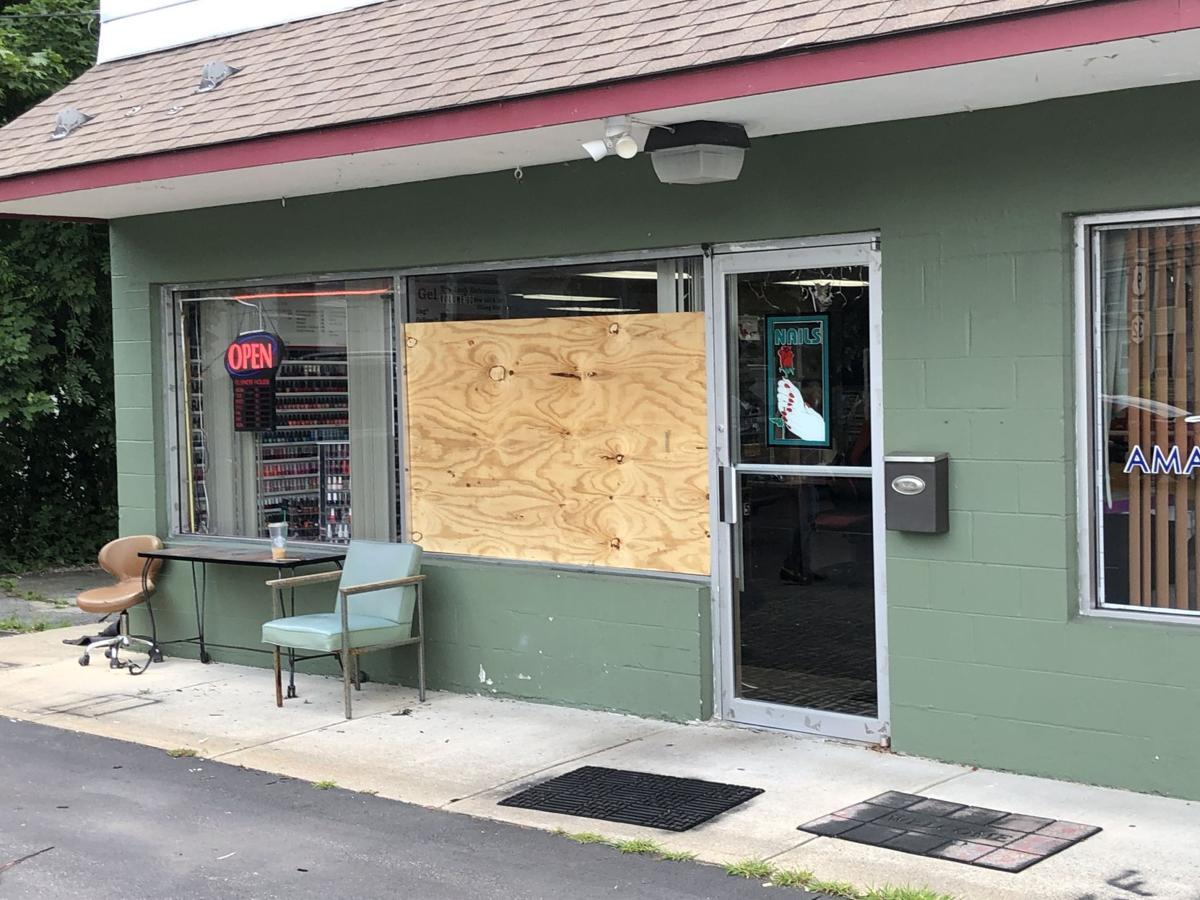 Businesses vandalized