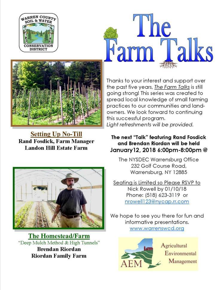 The Farm Talks January 12