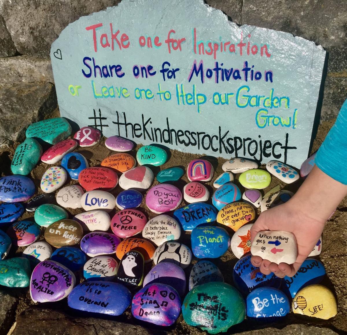 Junk Garden Ideas 2018 Edition: HOMETOWN COLUMN: Kindness Rocks At Hovey Pond