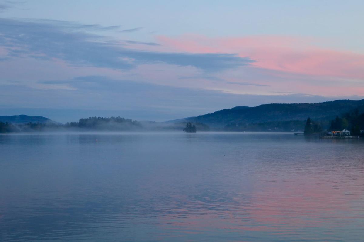 Evening on Lake George
