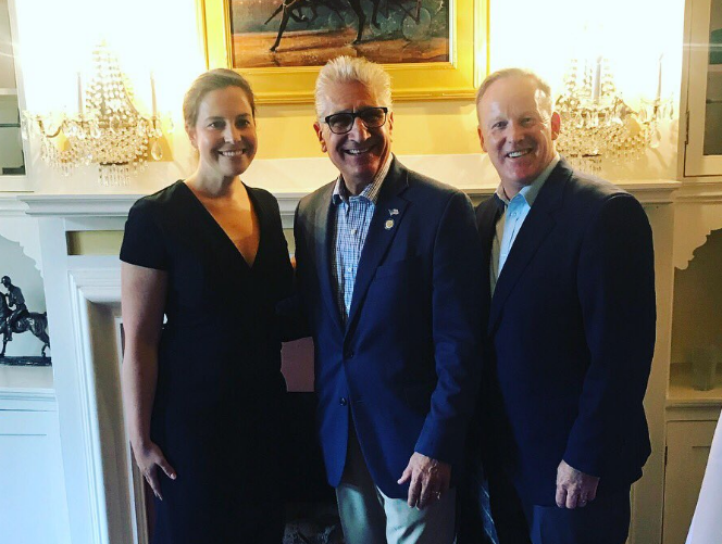 Spicer with Stefanik and Tedisco