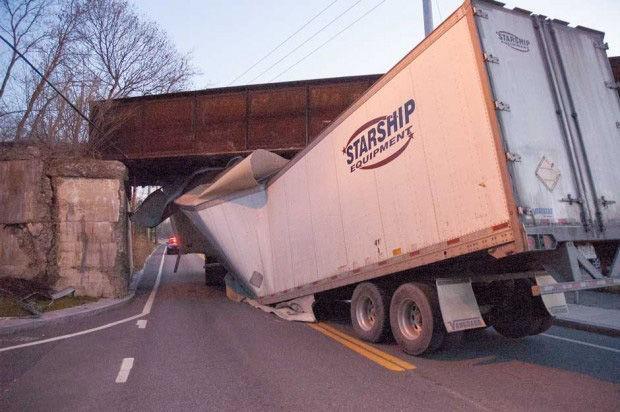 Railroad will finally fix overpass