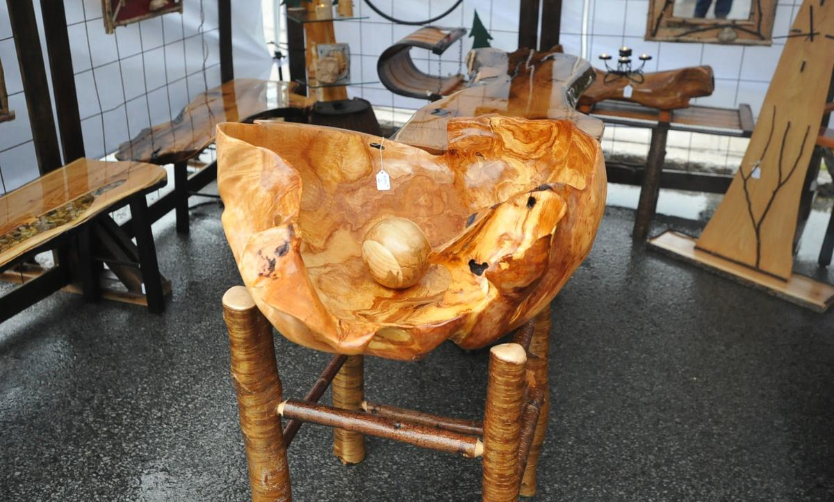 Oyster and burl