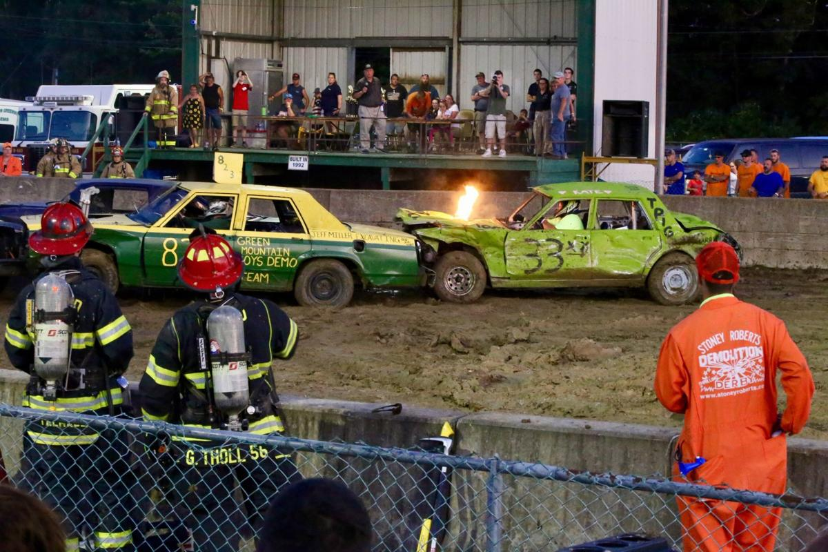 Blog Things Get A Little Hot At The Demolition Derby Blogs Poststar Com