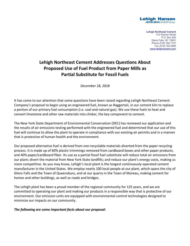 Lehigh raggertail fact sheet