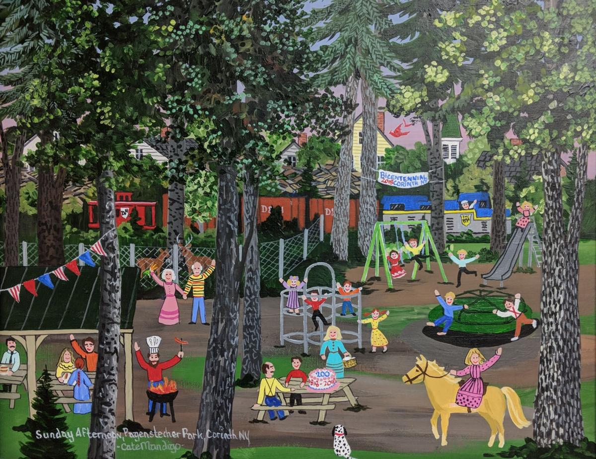 Pagenstecher Park painting