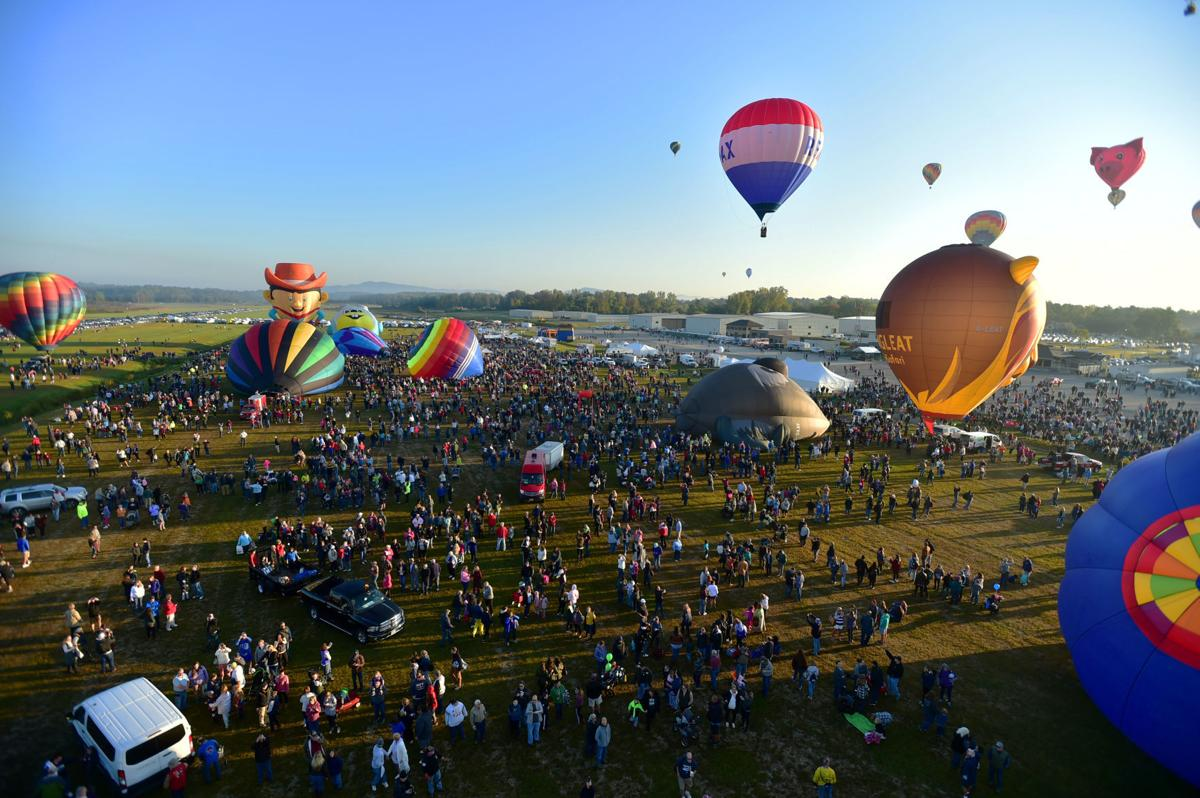 Adirondack Balloon Festival, Saturday morning launch