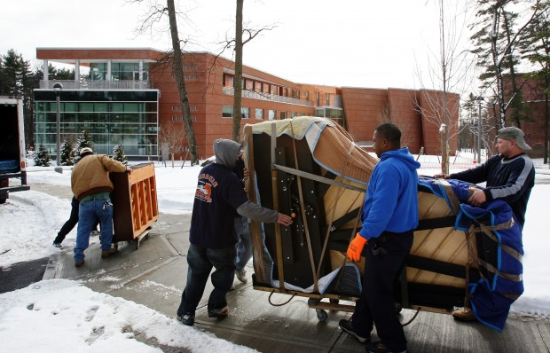 Pianos Moved to New Music Center