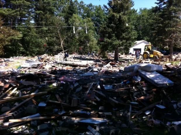 Salem house explosion, Day 2