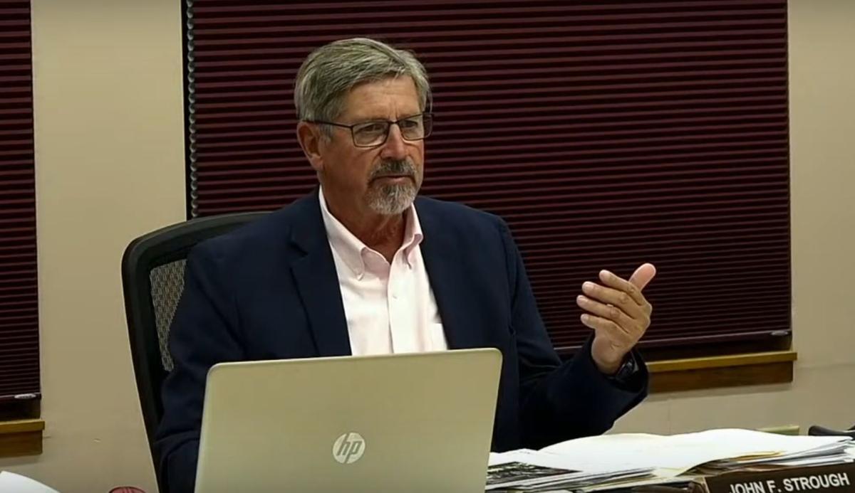 Supervisor John Strough