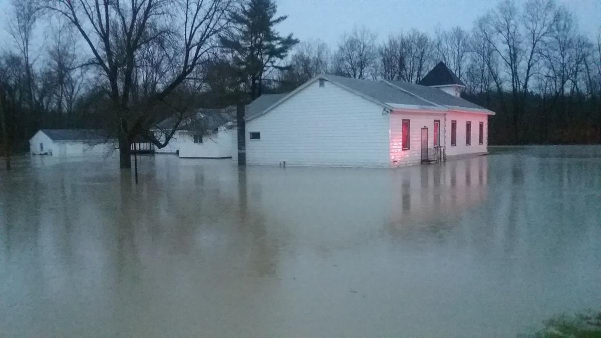 Fort Edward church flooded