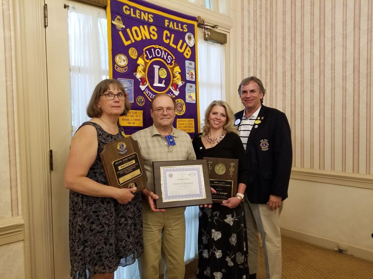 Glens Falls Lions members awarded