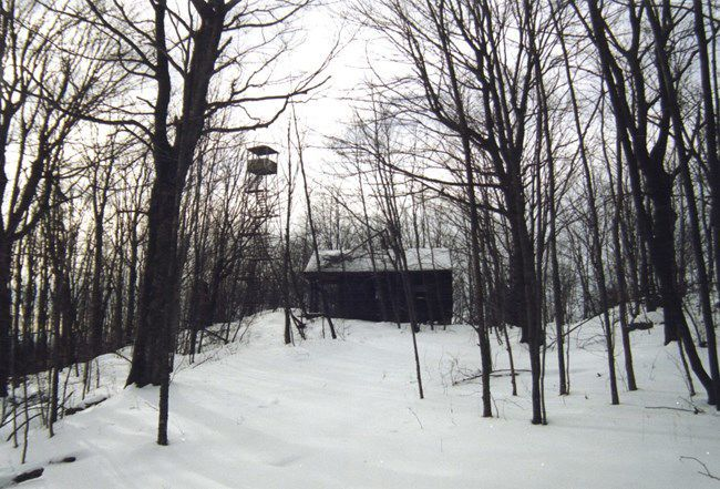 Swede Mountain fire tower
