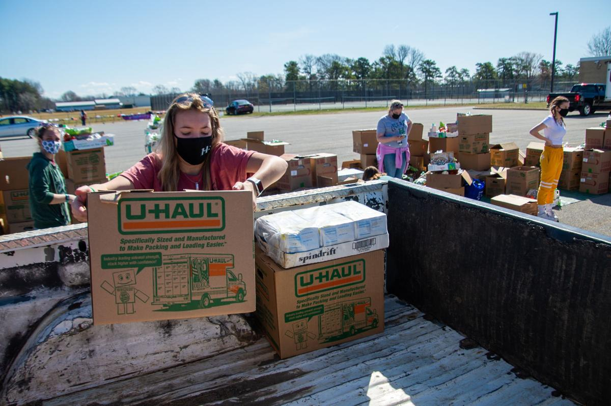 Hudson Falls food distribution