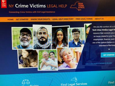 Crime victims website