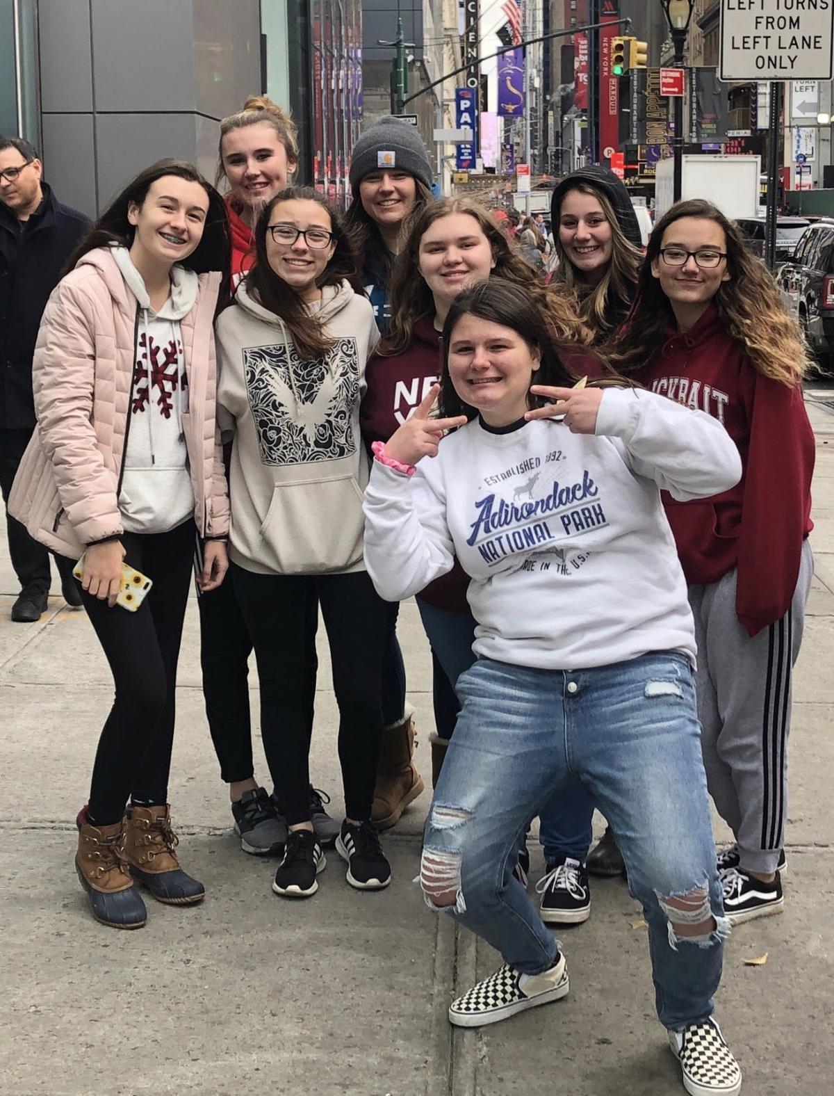 Granville students see 'Hamilton' on Broadway