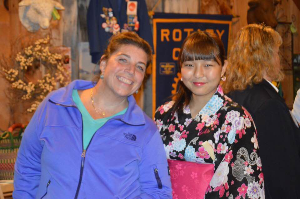 Rotary welcomes Japanese exchange student