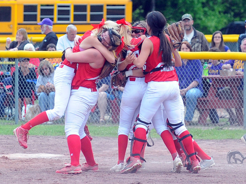 Section II softball finals