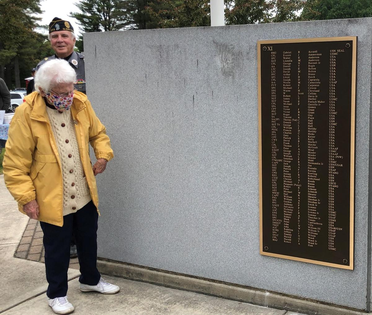 Names added to monument