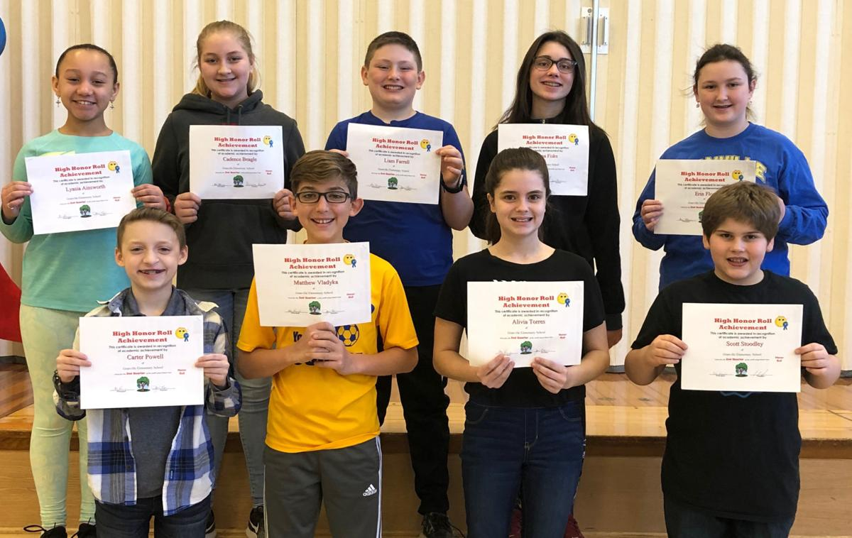 Granville students on Honor Roll