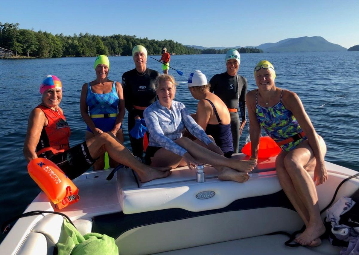 Menopausal women to swim length of Lake George