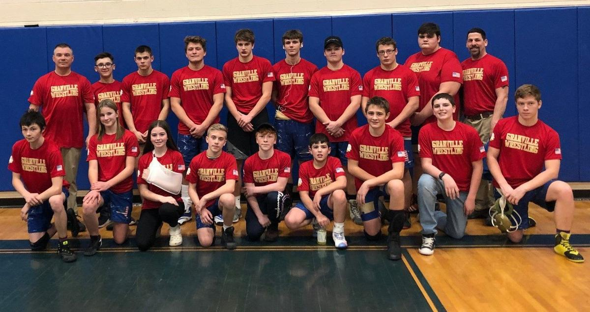 Granville wrestling team