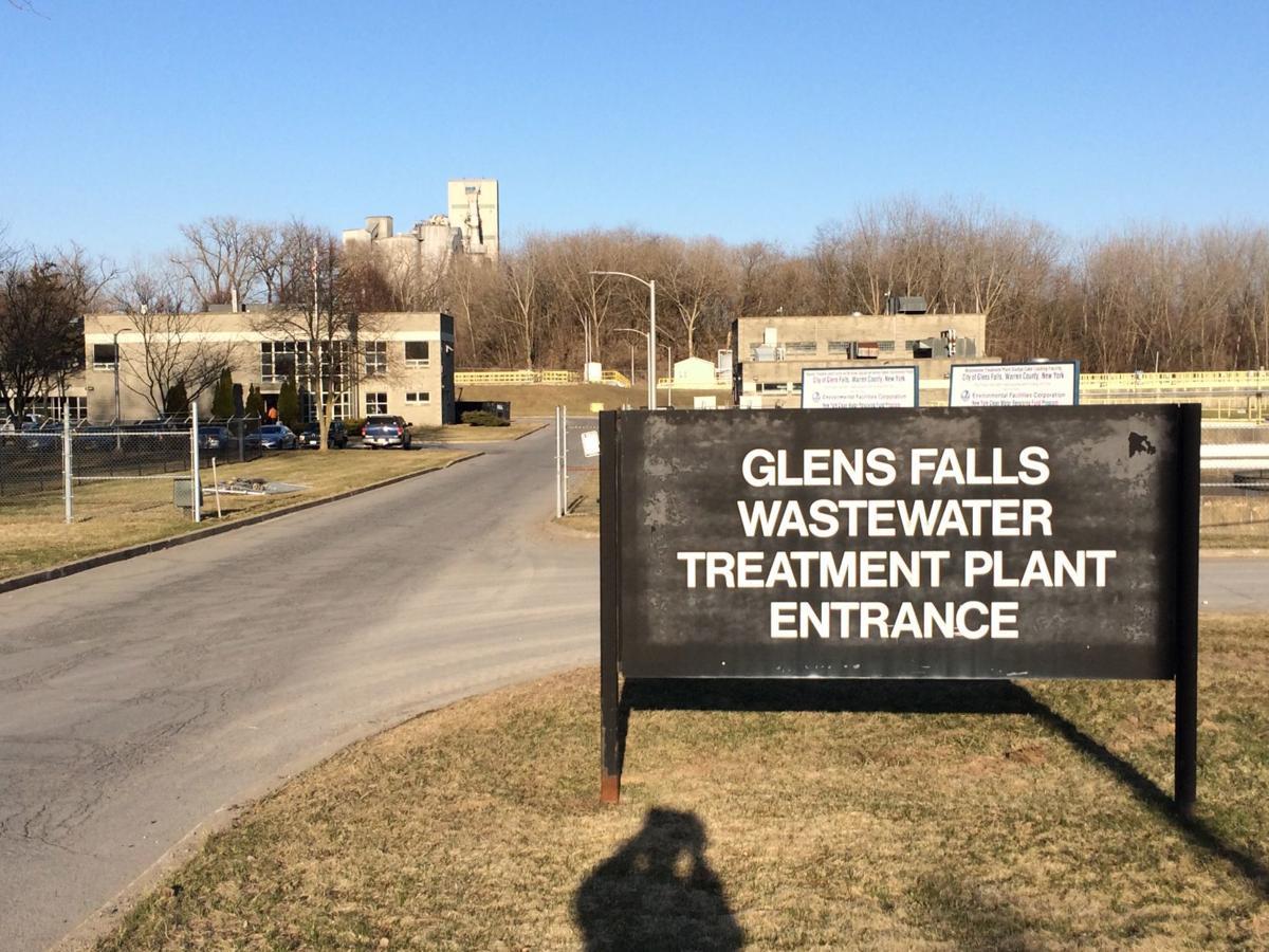 Glens Falls wastewater treatment plant