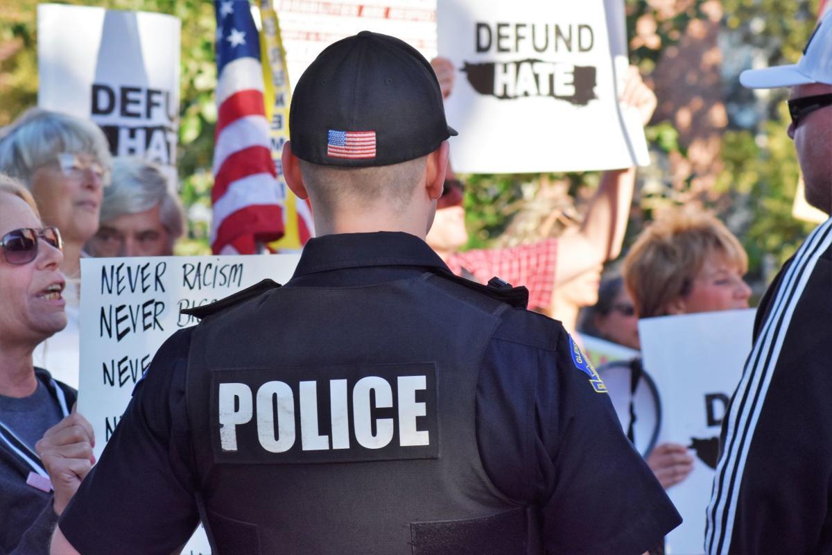 Glens Falls protest