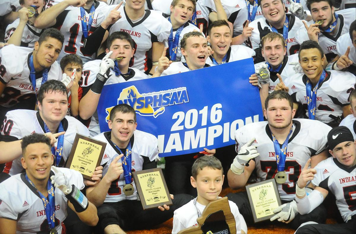 Glens Falls state football champions