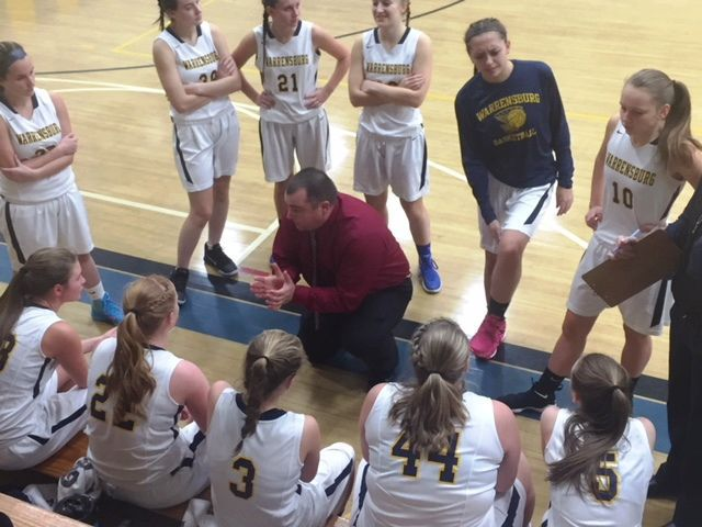 Warrensburg girls basketball