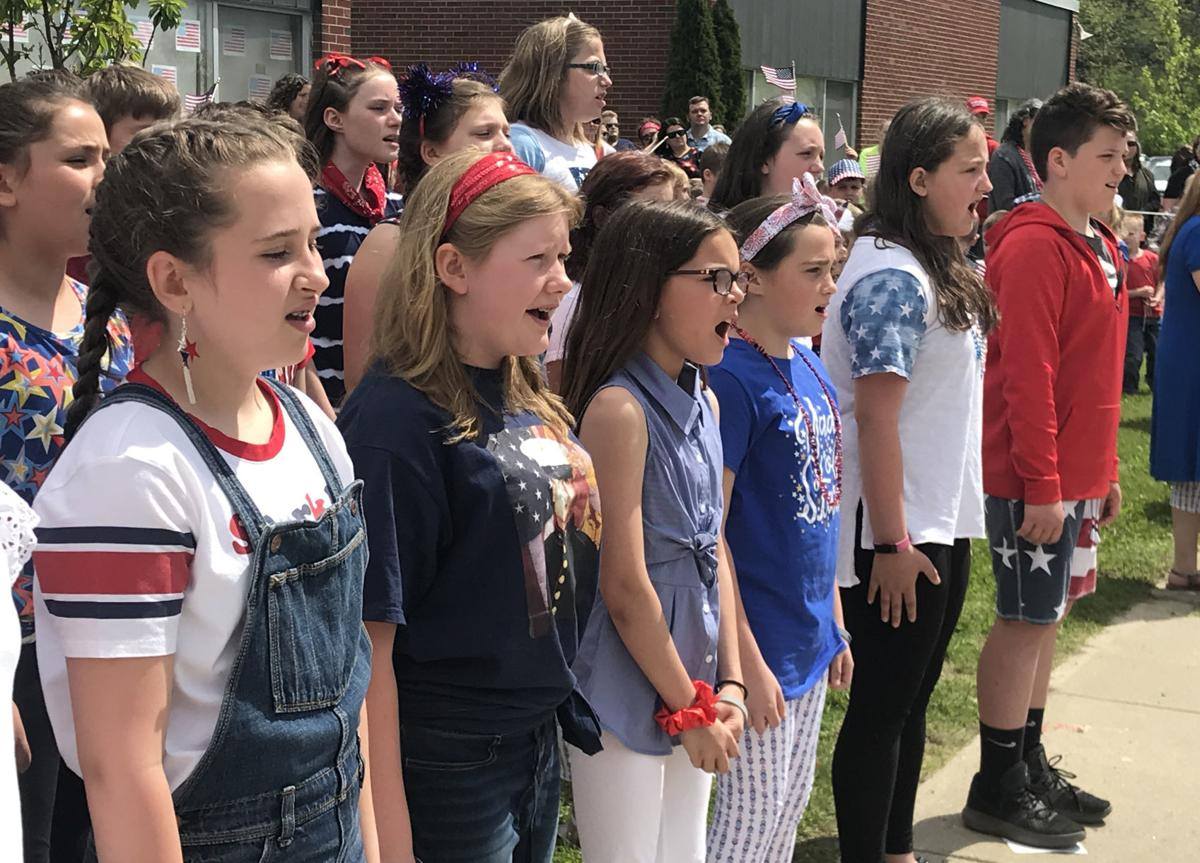 Memorial Day at Whitehall Elementary