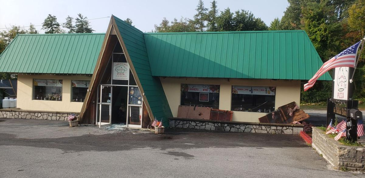 Fire damages Lake George pizza place