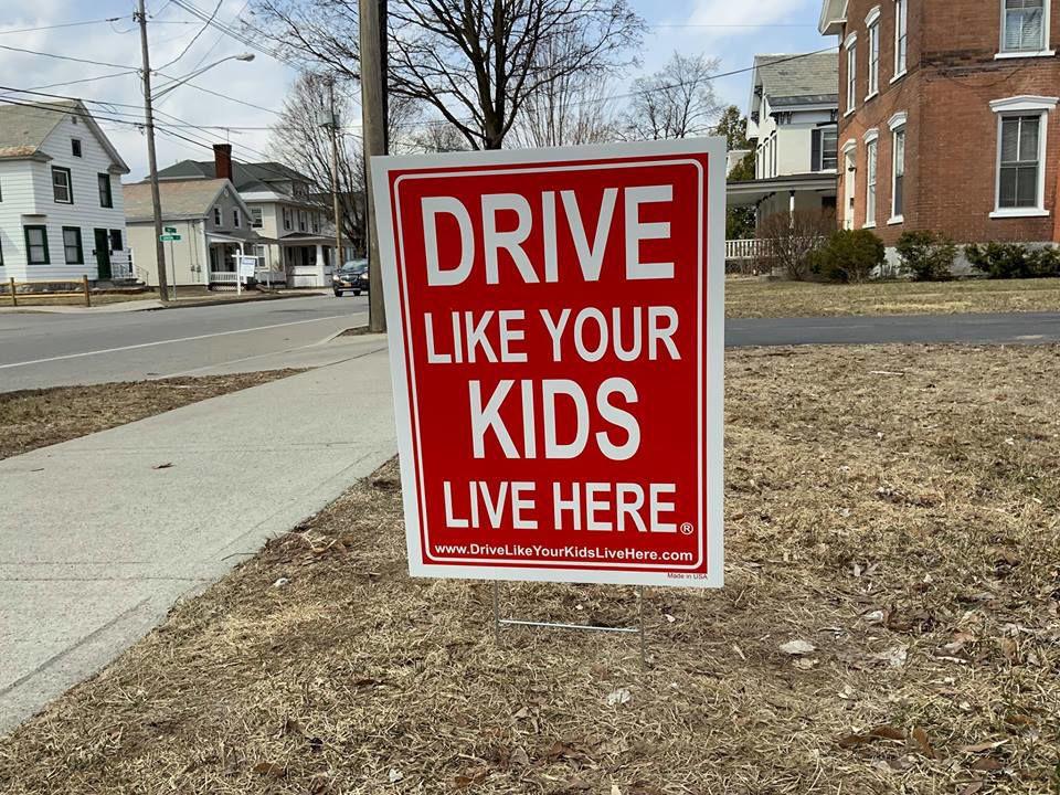 'Drive Like Your Kids Live Here'
